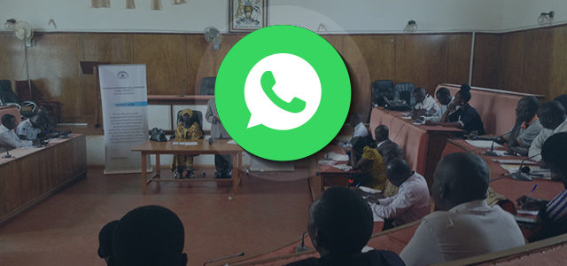 Youth Parliament on WhatsApp
